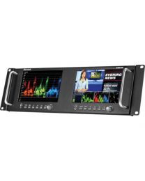"Marshall Dual 7"" Rack mountable with HDMI, 3G-SDI"
