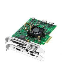 Blackmagic DeckLink Studio 4K Übergänge HD SD Video Audio Eingänge Anschlüsse