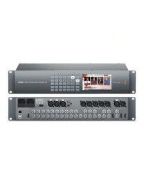 Blackmagic ATEM 2 M/E Production Studio 4K Video audio eingänge anschlüsse
