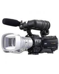 JVC Solid state camcorder, no lens, shoulder type