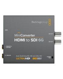 Blackmagic Mini Converter HDMI-SDI 6G eingänge anschlüsse