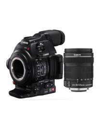 Canon EOS C100 Mark II + 18-135 Kit