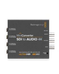 Blackmagic Mini Converter SDI to Audio 4K eingänge anschlüsse