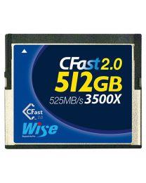 Wise CFast 2.0 Card 3500X blue - 512 GB