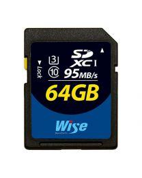 Wise SDXC Card - 64G/UHSI(U3)