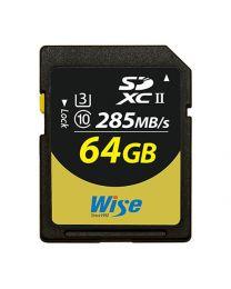 Wise SDXC Card -64G/UHSII(U3)