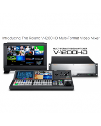 Roland V-1200HD/HDR Bundle