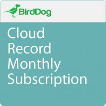 BirdDog Cloud Record (Monthly Subscription)  BDCLOUDRECORD