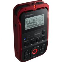 Roland R-07 Portable Audio Recorder (Red)  R-07 (RD)
