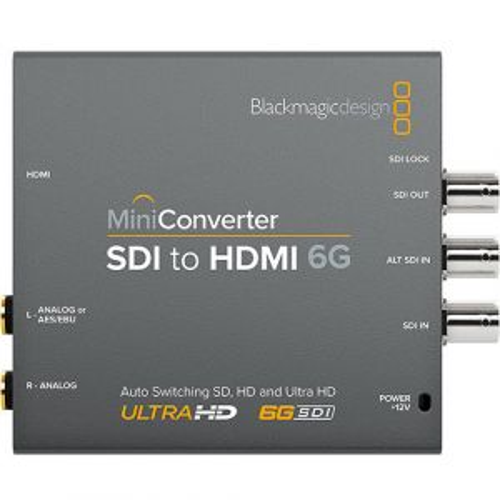 Blackmagic Design Mini Converter SDI-HDMI 6G - Blackmagic Design BM-CONVMBSH4K6G