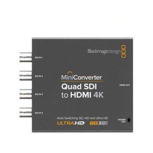 Blackmagic Design Mini Converter Quad SDI-HDMI 4K CONVMBSQUH4K2 - Blackmagic Design BM-CONVMBSQUH4K2