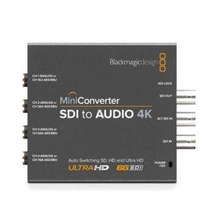 Blackmagic Design Mini Converter SDI-Audio 4K CONVMCSAUD4K  BM-CONVMCSAUD4K