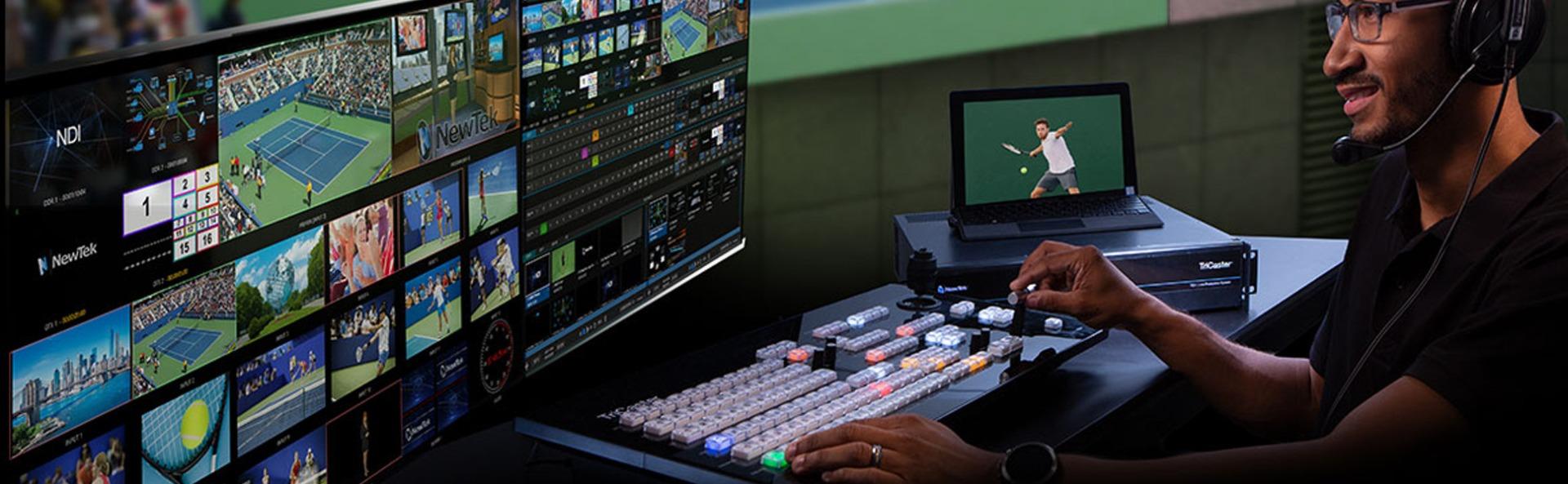 NewTek Studiosysteme von ETAS High-Tech Systems GmbH
